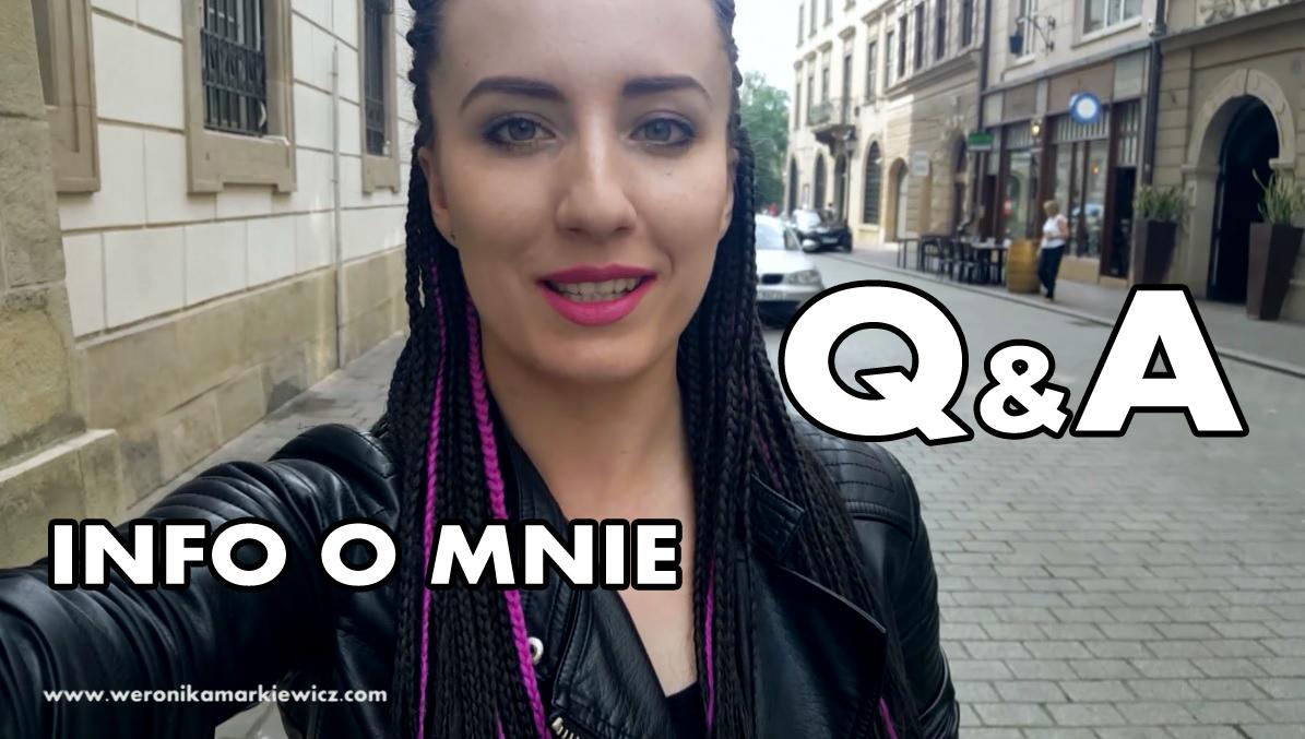 Q&A Info o mnie!