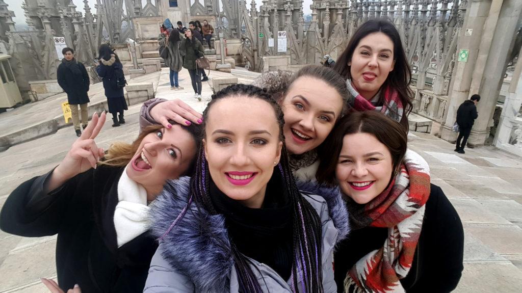 Mediolan with friends!