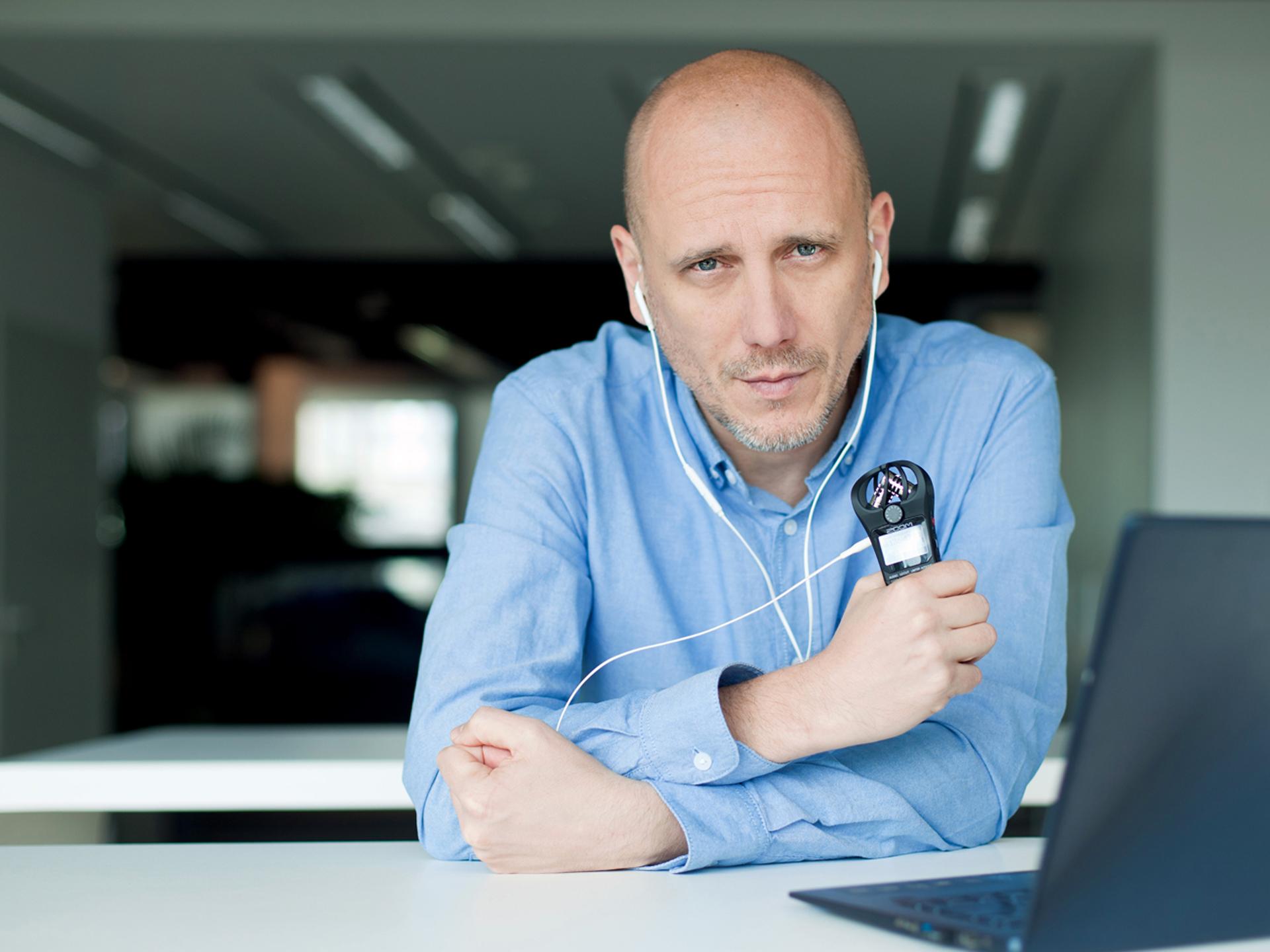 Radosław Budnicki – podcaster